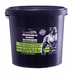 Regeneracyjna sól do kąpieli dla sportowców, 5 kg