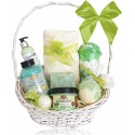 Kosz prezentowy kosmetyków Zielone Owoce