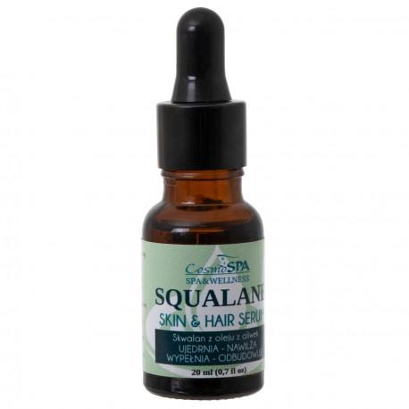 SKWALAN z oleju z oliwek. Serum do twarzy i dekoltu. 20 ml