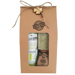 zielone owoce eko zestaw prezentowy kosmetyków naturalnych