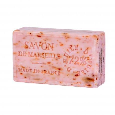Savon de Marseille, MYDŁO MARSYLSKIE z olejem Róży Damasceńskiej i płatkami suszonych różyczek