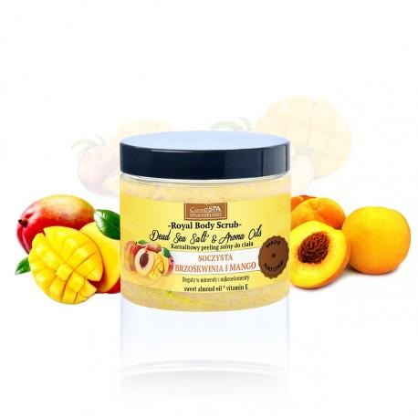 Karnalitowy peeling do ciała z olejami soczysta brzoskwinia i mango, 350 g