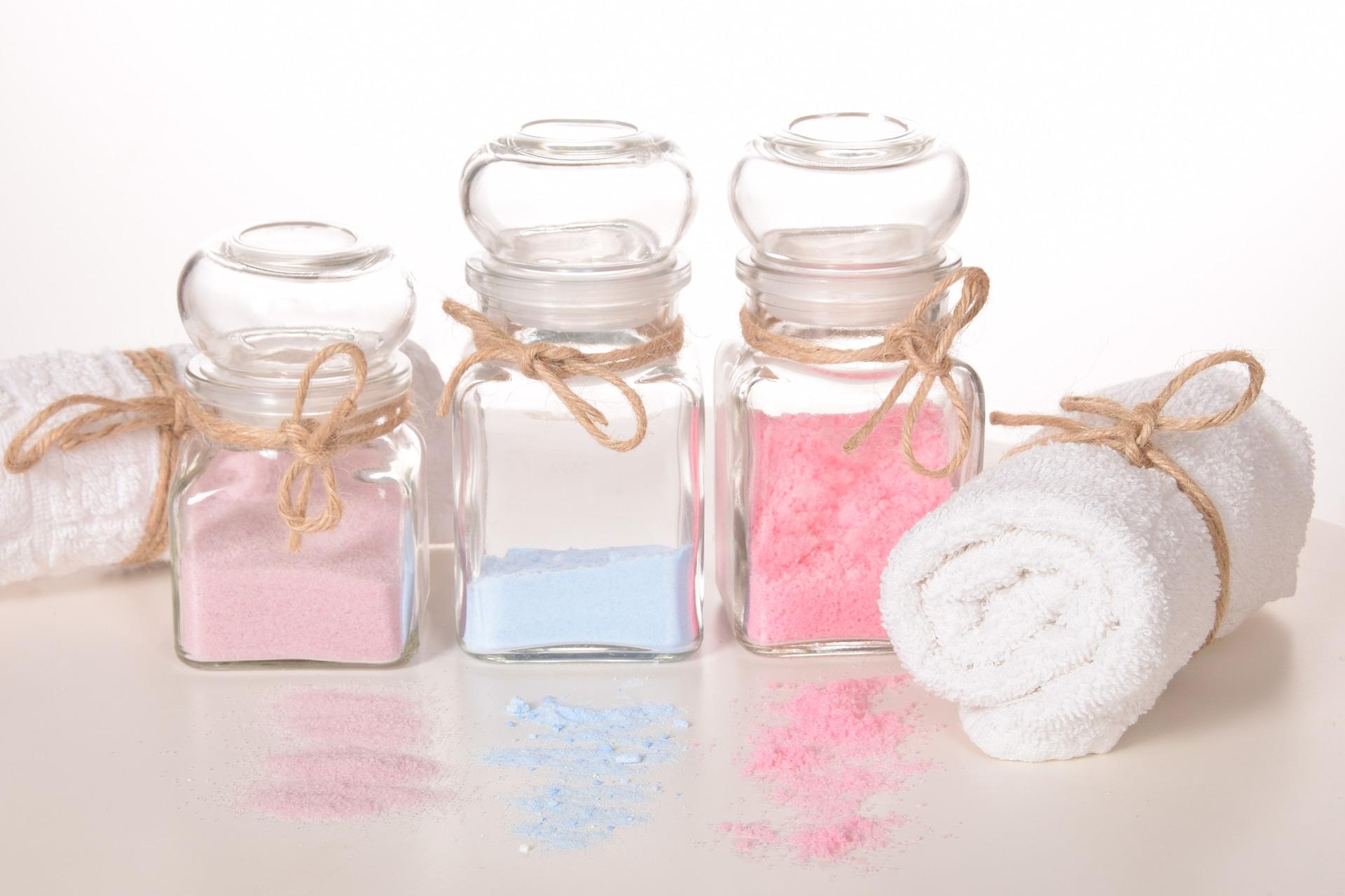 pudry kosmetyczne do kąpieli